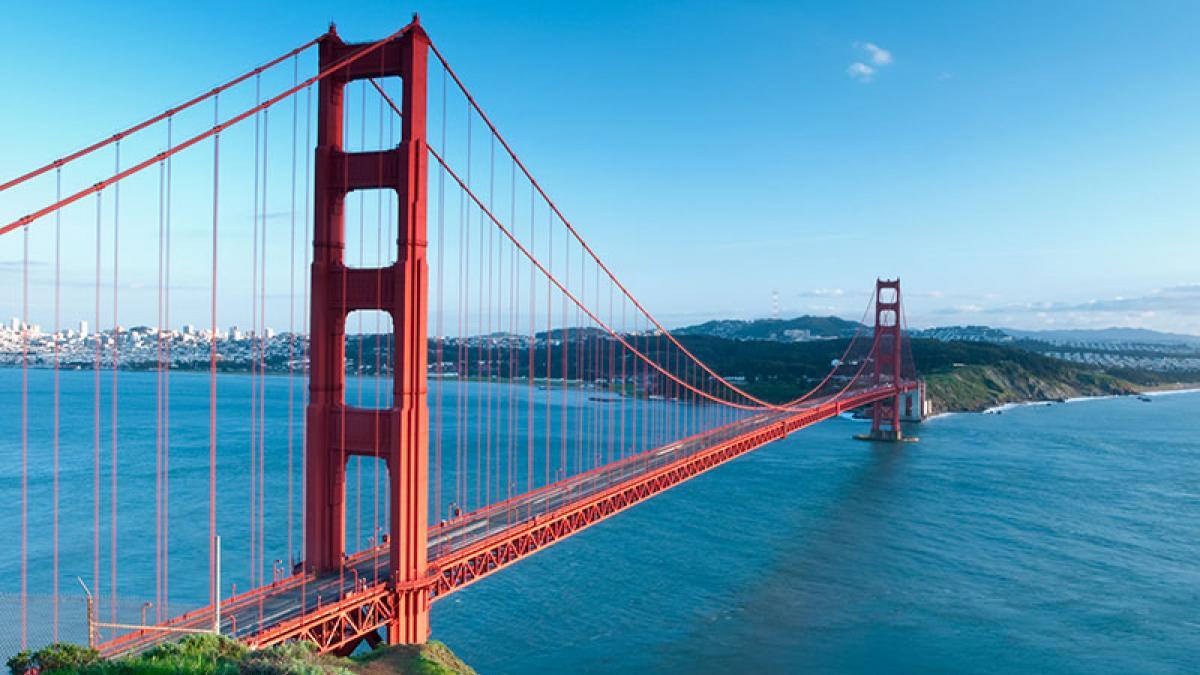 Scenic Golden Gate Bridge