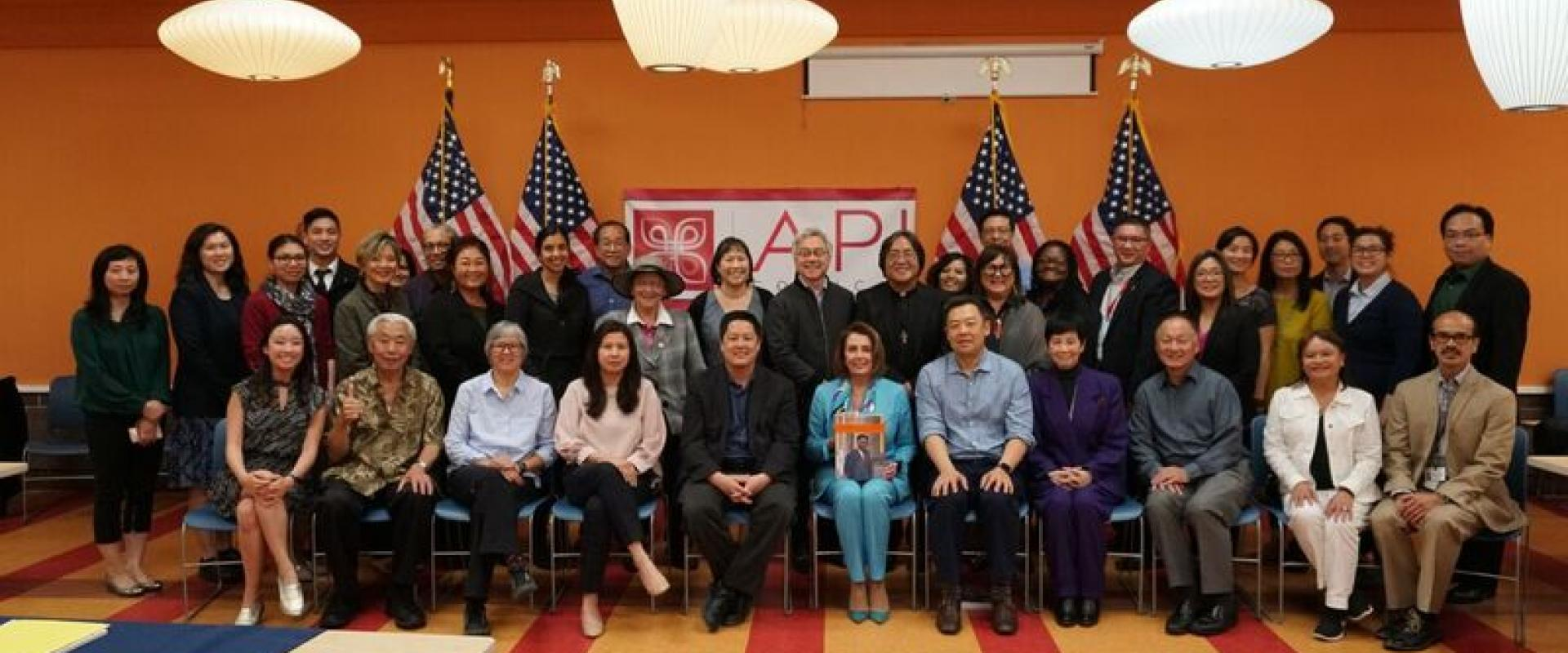 Congresswoman Pelosi holds a roundtable discussion with local leaders of the Asian-American Pacific Islander (AAPI) Community to discuss grant funding for education, quality health care, creating good-paying jobs, affordable housing and comprehensive immi