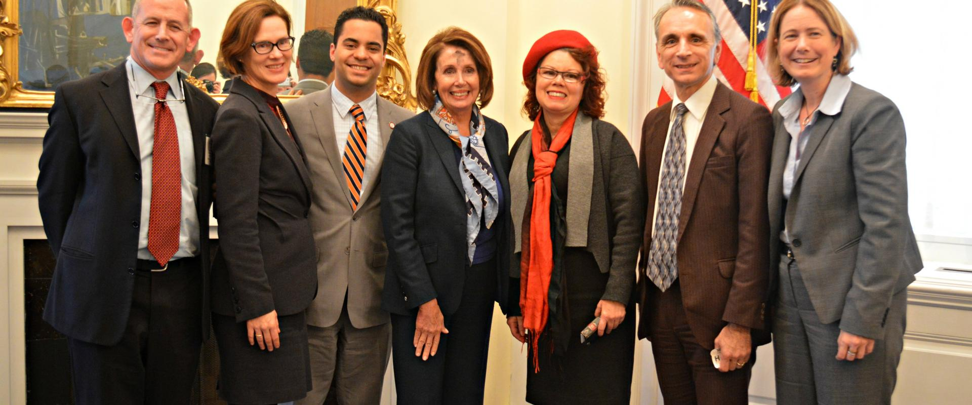 Congresswoman Pelosi meets with City College of San Francisco Interim Chancellor Susan Lamb and CCSF Trustees to discuss the indispensable role in education and job training City College provides to its students and our City.