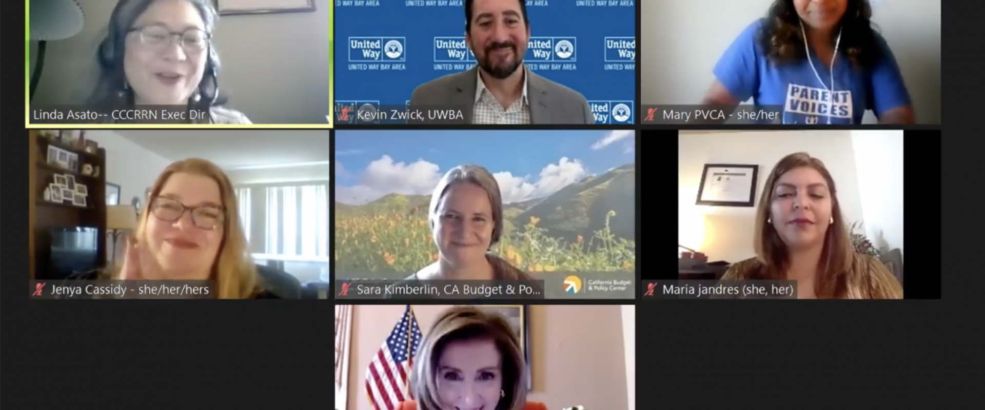 Ahead of the May 17th tax deadline, Congresswoman Nancy Pelosi joined San Francisco parents, advocates and experts for a virtual roundtable to discuss the American Rescue Plan enhanced Child Tax Credit benefits and how it is helping families in San Franci