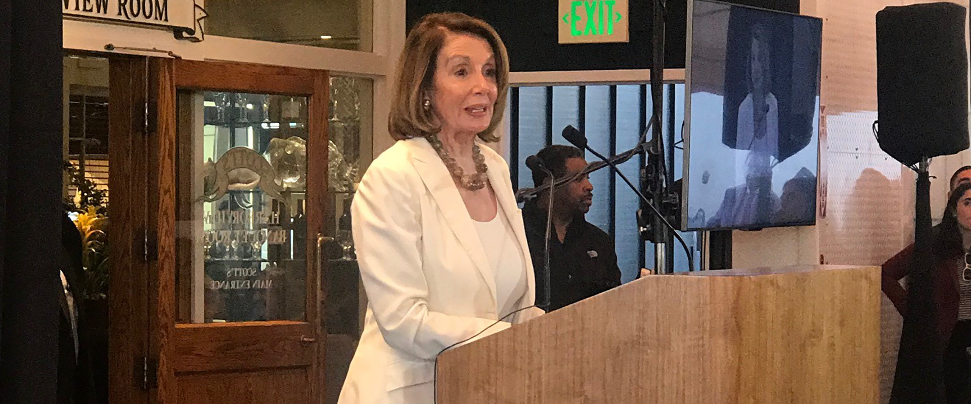 Congresswoman Pelosi delivers remarks in Oakland at the funeral of the late Ron Dellums, honoring the former Oakland Mayor and 13-term Bay Area Member of Congress and Committee Chairman.