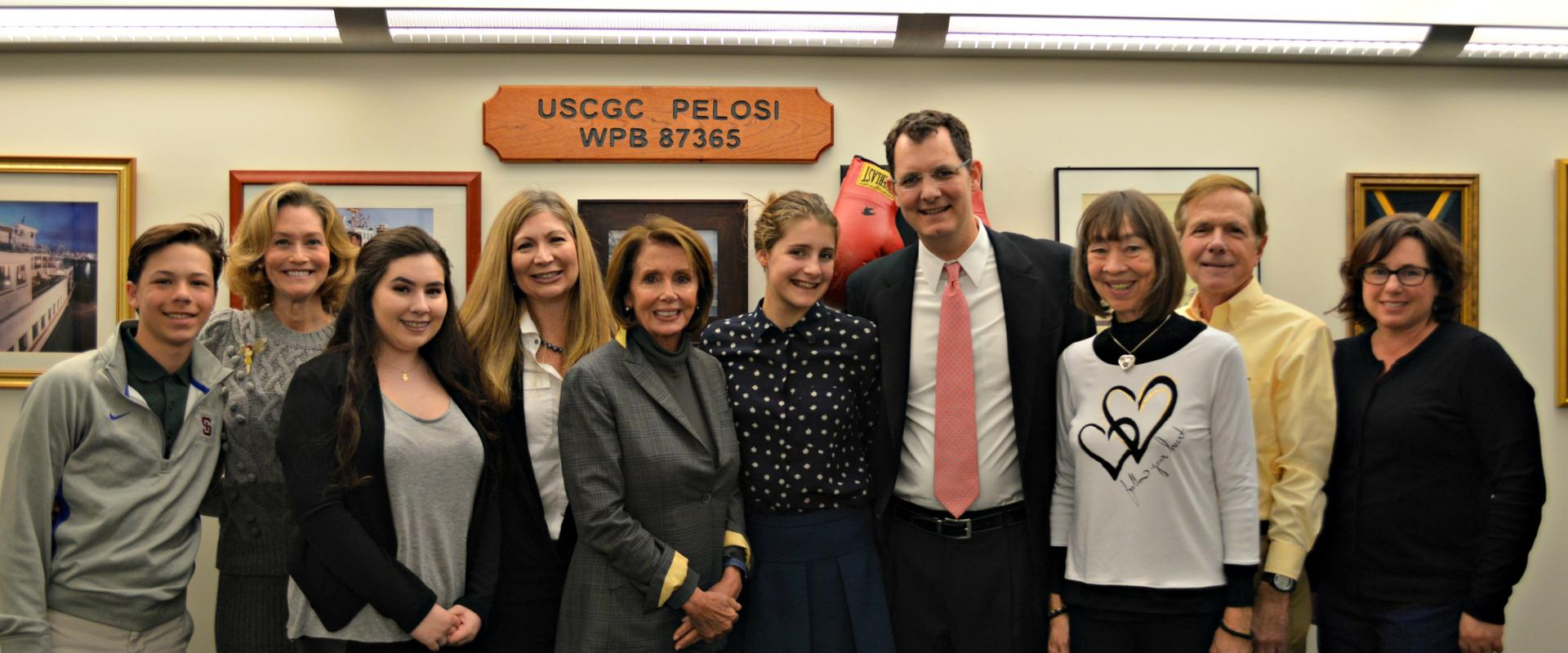 Congresswoman Pelosi meets with the Juvenile Diabetes Research Foundation to discuss children with Type 1 Diabetes and the fight for preserving Affordable Care Act's protections for individuals with preexisting conditions.