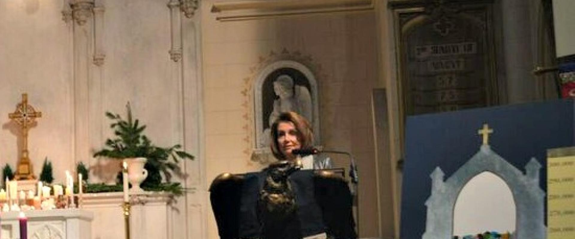 Congresswoman Pelosi joined community members to remember the loved ones we've lost and renew our commitment to ending gun violence in St. Luke's Episcopal Church for a Vigil marking the fourth anniversary of 26 lives lost in the Newtown, CT Sandy Hook Sc
