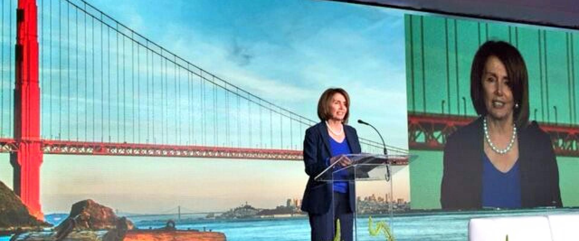 Congresswoman Pelosi joined Energy Secretary Ernest Moniz in strong support of the United States' commitment to the Mission Innovation initiative, which aims to dramatically accelerate public and private global clean energy innovation. Energy leaders from