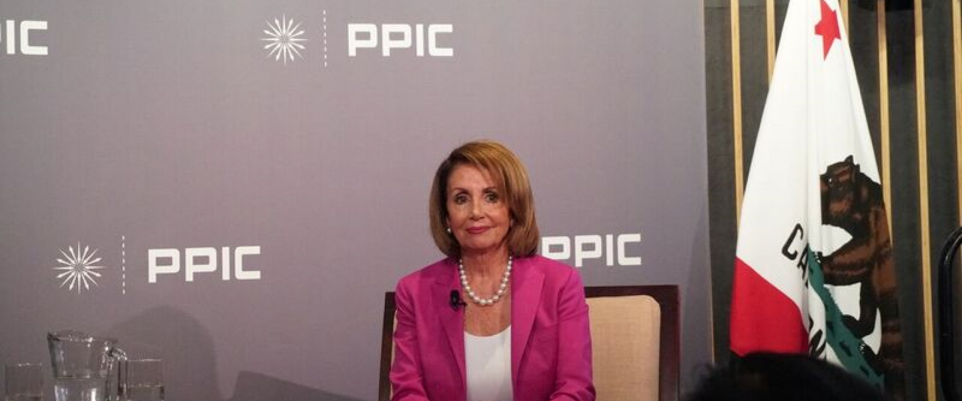Congresswoman Pelosi joins Public Policy Institute of California (PPIC) President and CEO Mark Baldassare for a for a wide-ranging discussion on navigating the state-federal relationship, affordable health care, protecting the environment, women's rights,