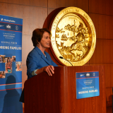 Congresswoman Pelosi joins Labor Secretary Tom Perez, Mayor Ed Lee and Bay Area Representatives Jackie Speier, Mike Honda and Jared Huffman at the Department of Labor's San Francisco Forum on Working Families to highlight Democrats' plan to build an econo