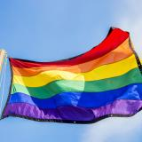 Photo of LGBT flag