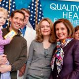 Congresswoman Nancy Pelosi tours the South of Market Health Center, which opened it doors in March 2011 and serves twice the number of patients as the existing health center with the passage of the Affordable Care Act.