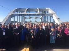 Democratic Leader Nancy Pelosi today released this statement while on a pilgrimage led by Congressman John Lewis commemorating the series of marches in Selma, Alabama that led to the passage of the Voting Rights Act of 1965.
